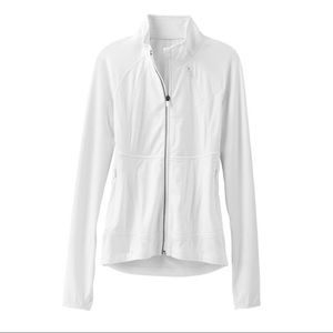 Athleta S Twilight Run Jacket White